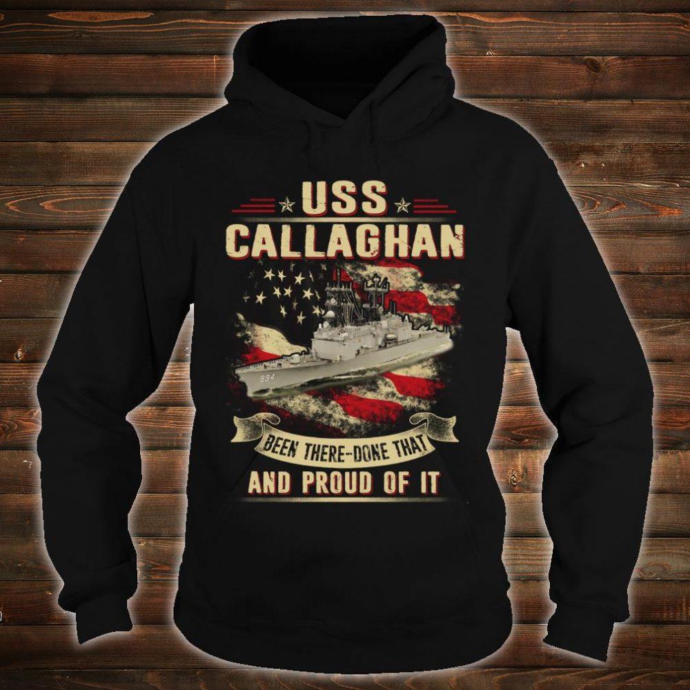USS Callaghan Shirt hoodie