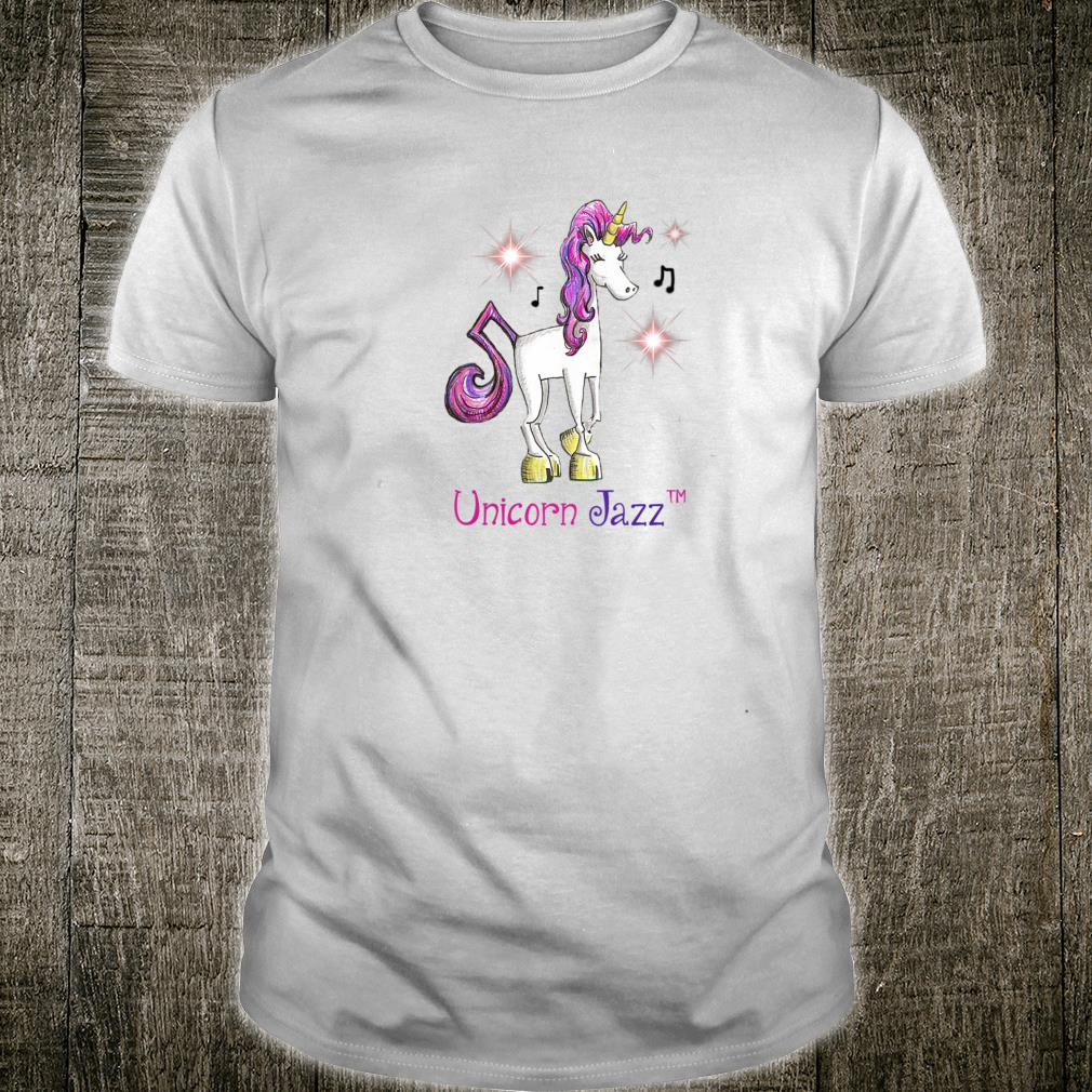 Unicorn Jazz and her Musical Note for a Tail Shirt