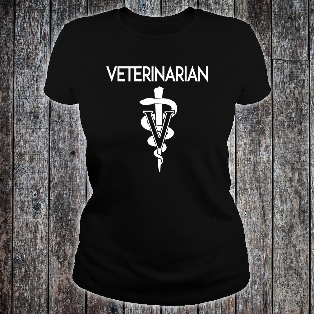 Veterinarian Role Vet, medical staff for animals v1 Shirt ladies tee