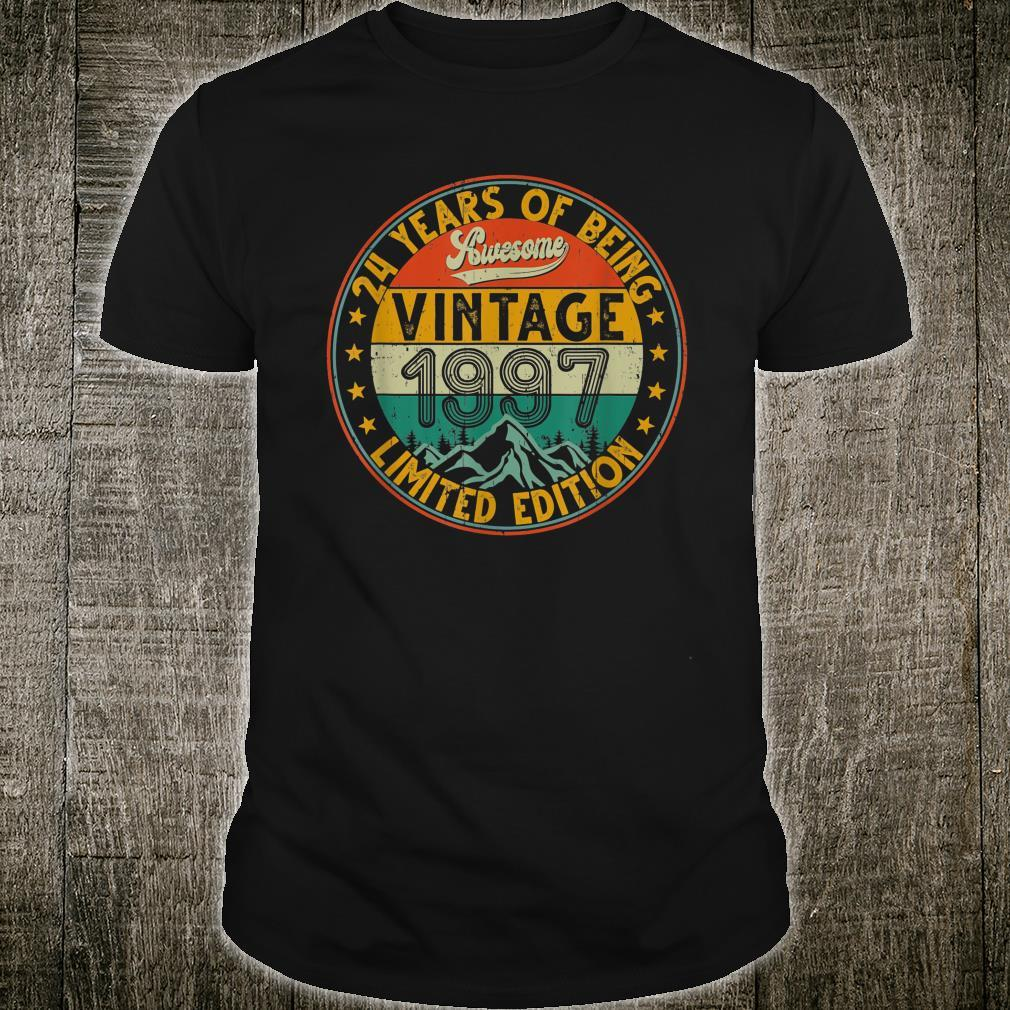 Vintage 1997 24 Years Limited Edition Shirt