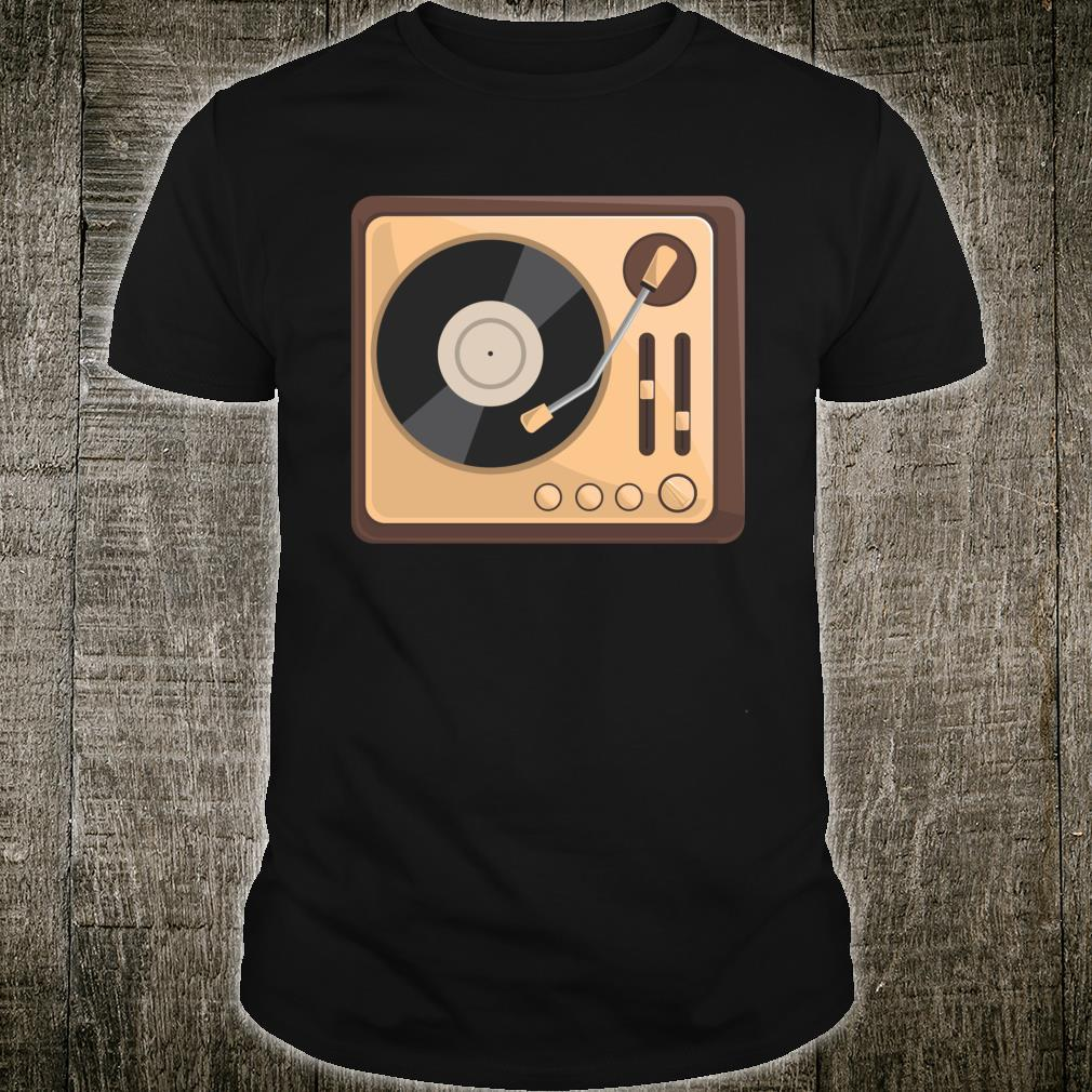 Vintage Vinyl Record Player  Collector Shirt