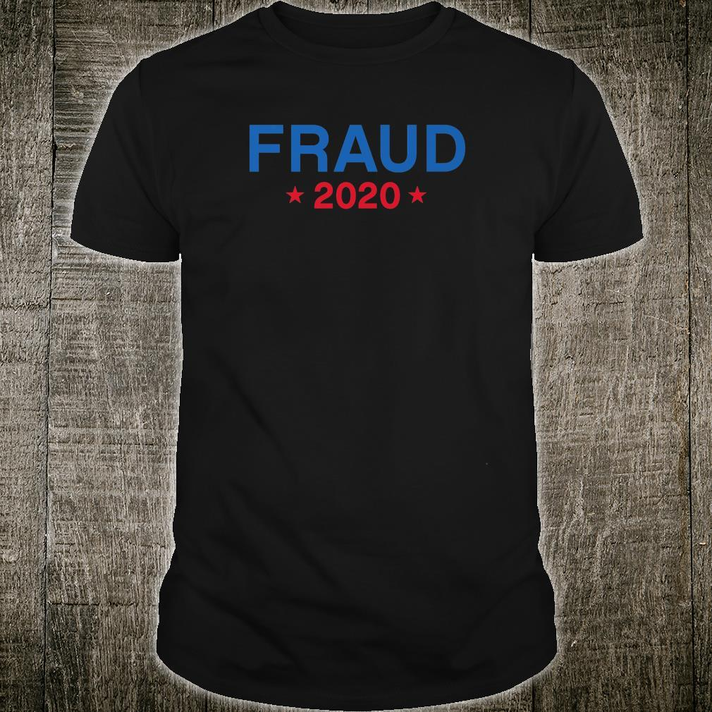 Voter Fraud Stolen Election Rigged 2020 Shirt