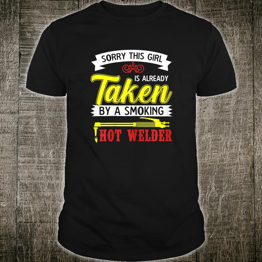 Welding For Girlfriend Welder Shirt