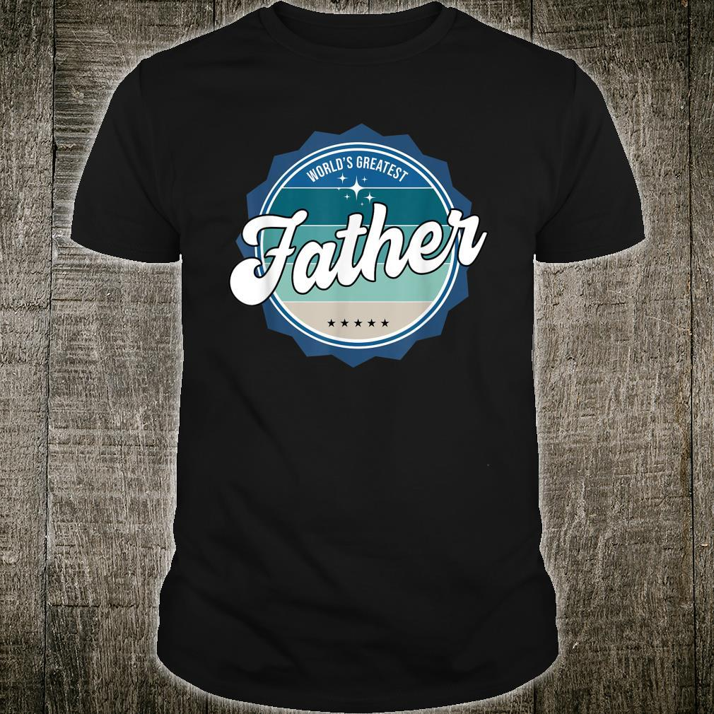 World's Greatest Father English Dad Shirt